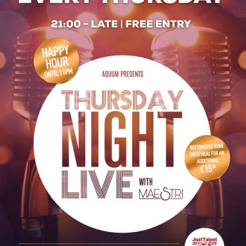 Thursday Night Live with MAESTRI